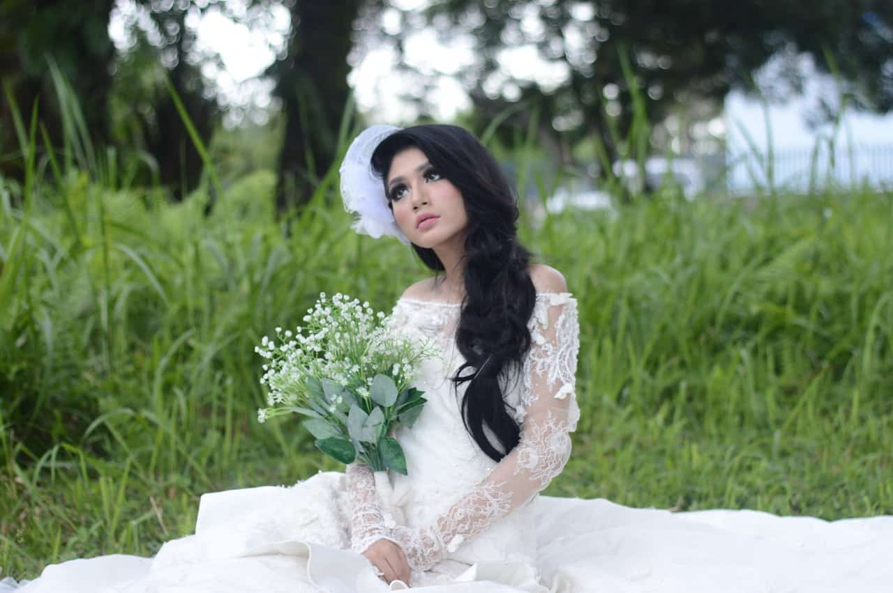 bride solo shoot