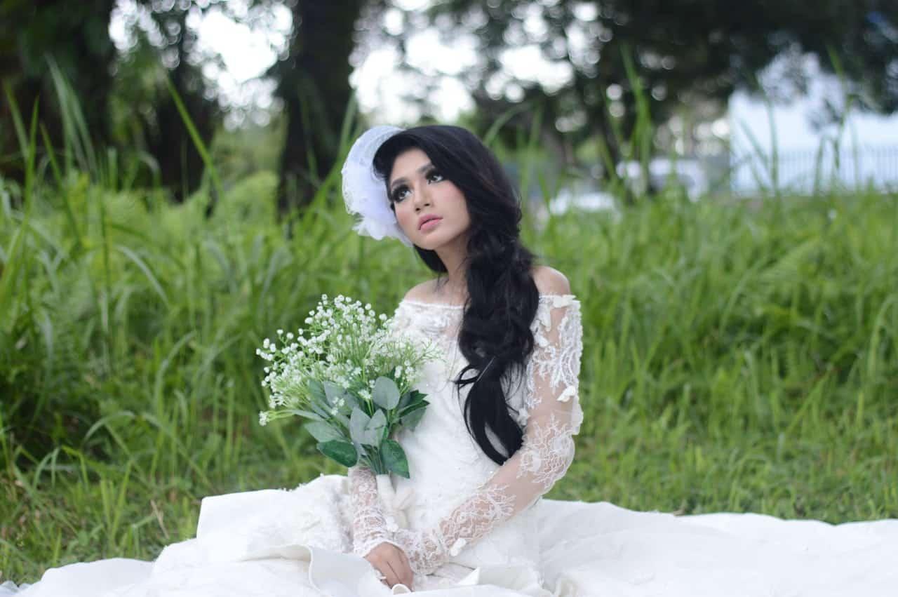 bride solo shoot