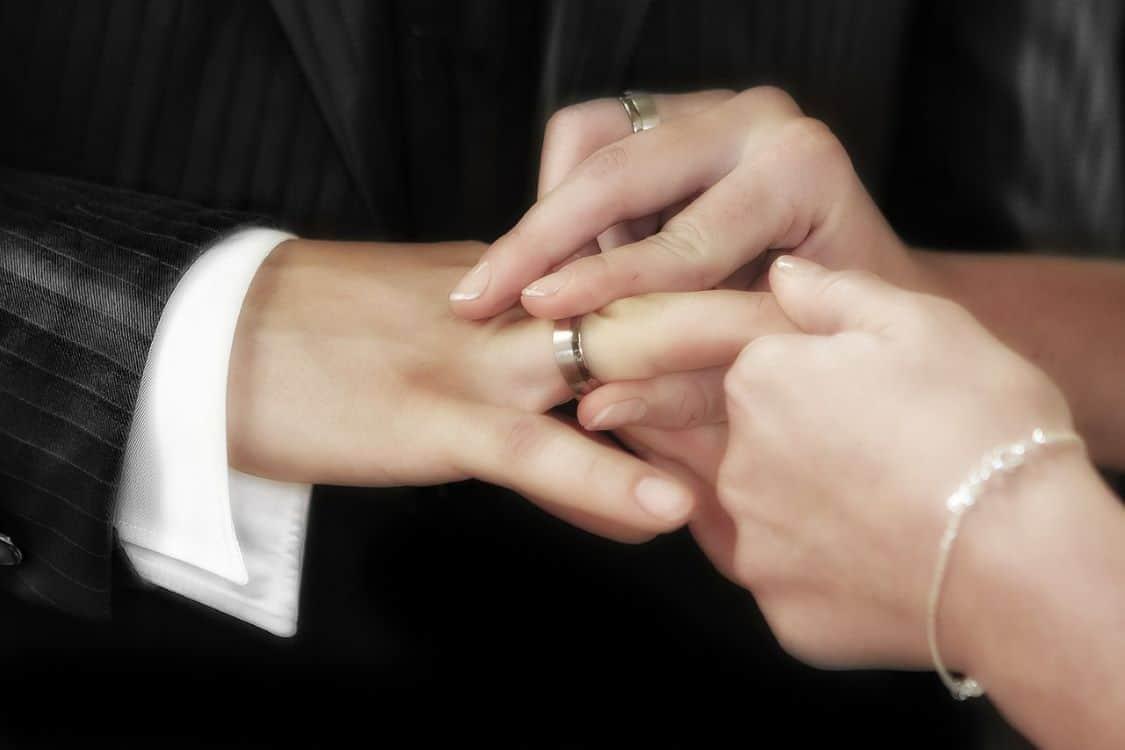 traditional wedding ring