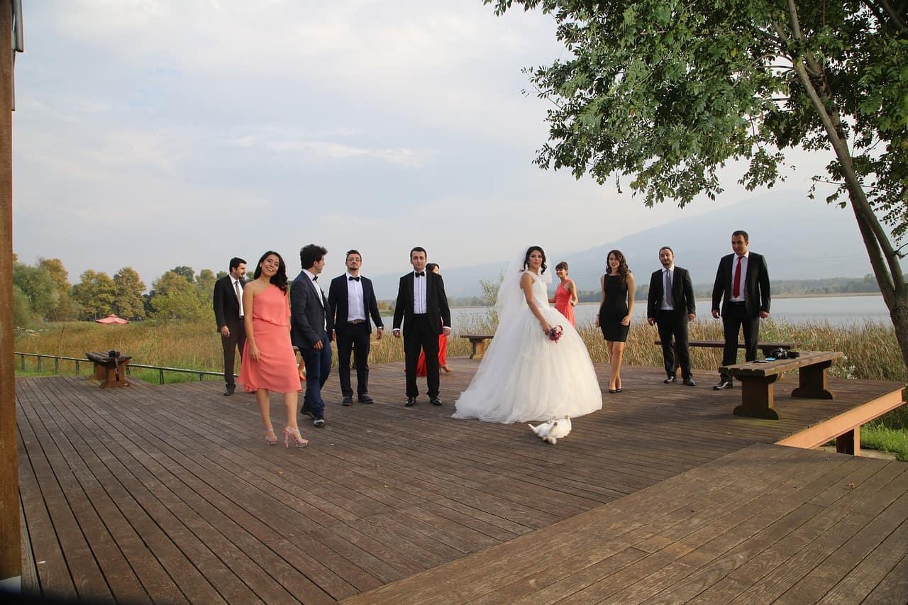 wedding attendees