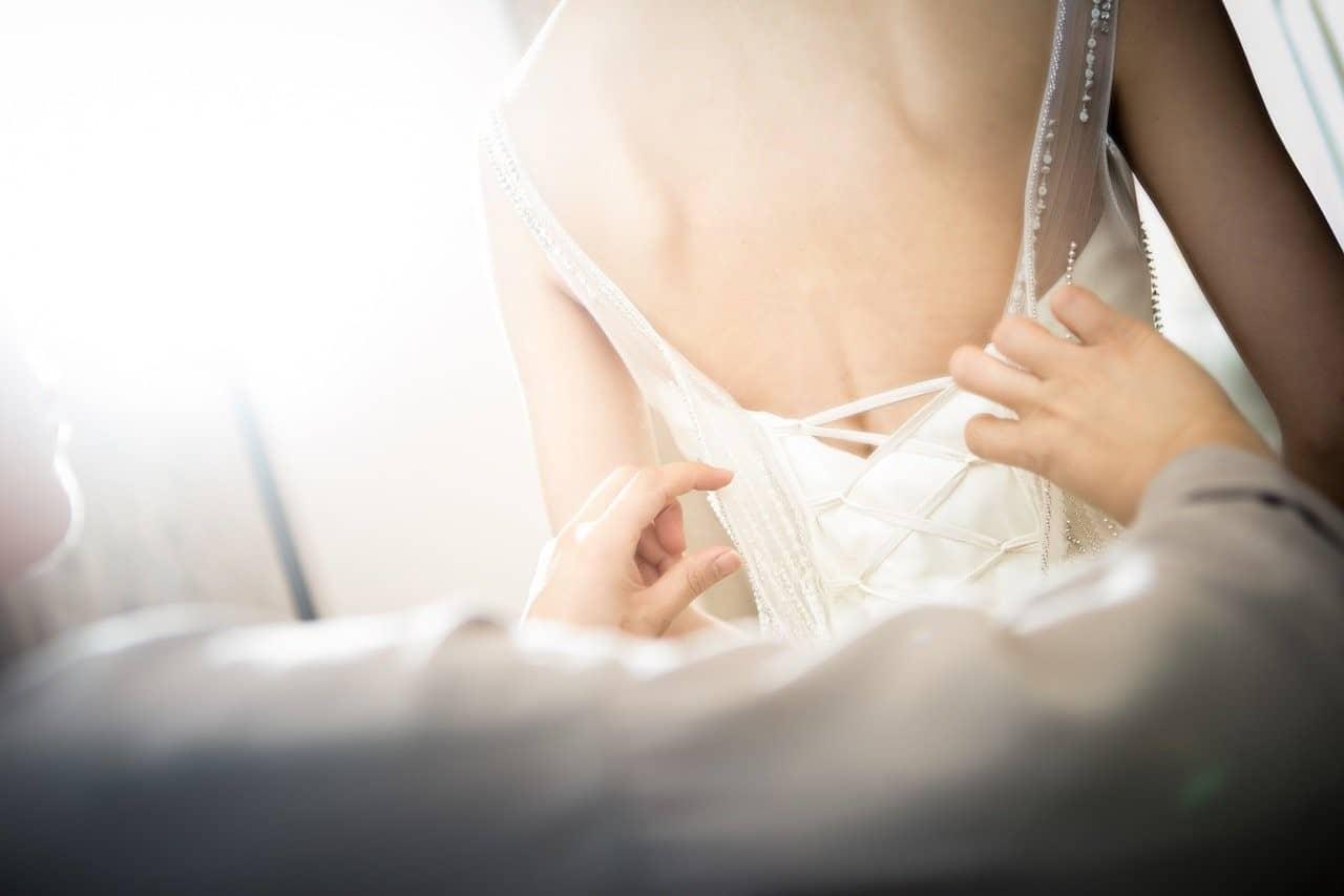 fitting dress bride
