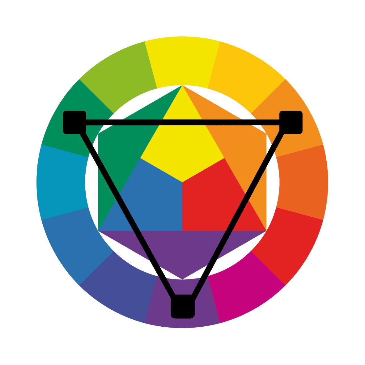 triadic color scheme