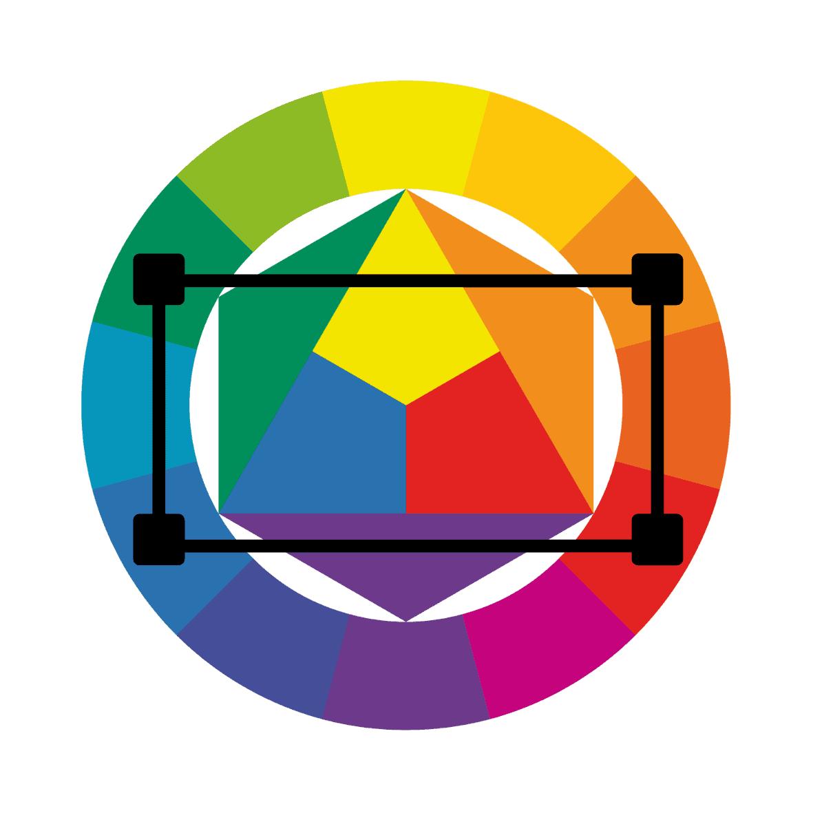 tetradic rectangle color