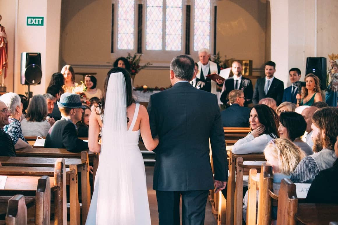 father bride church