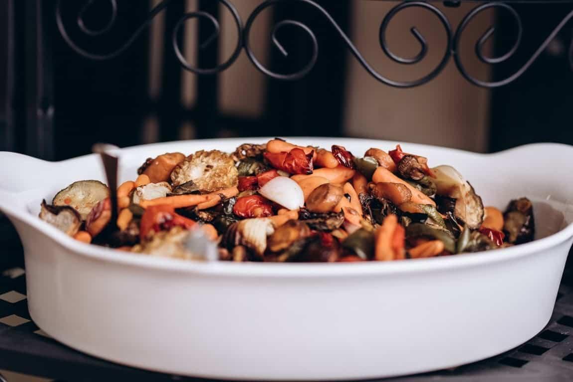 dish variety bowl