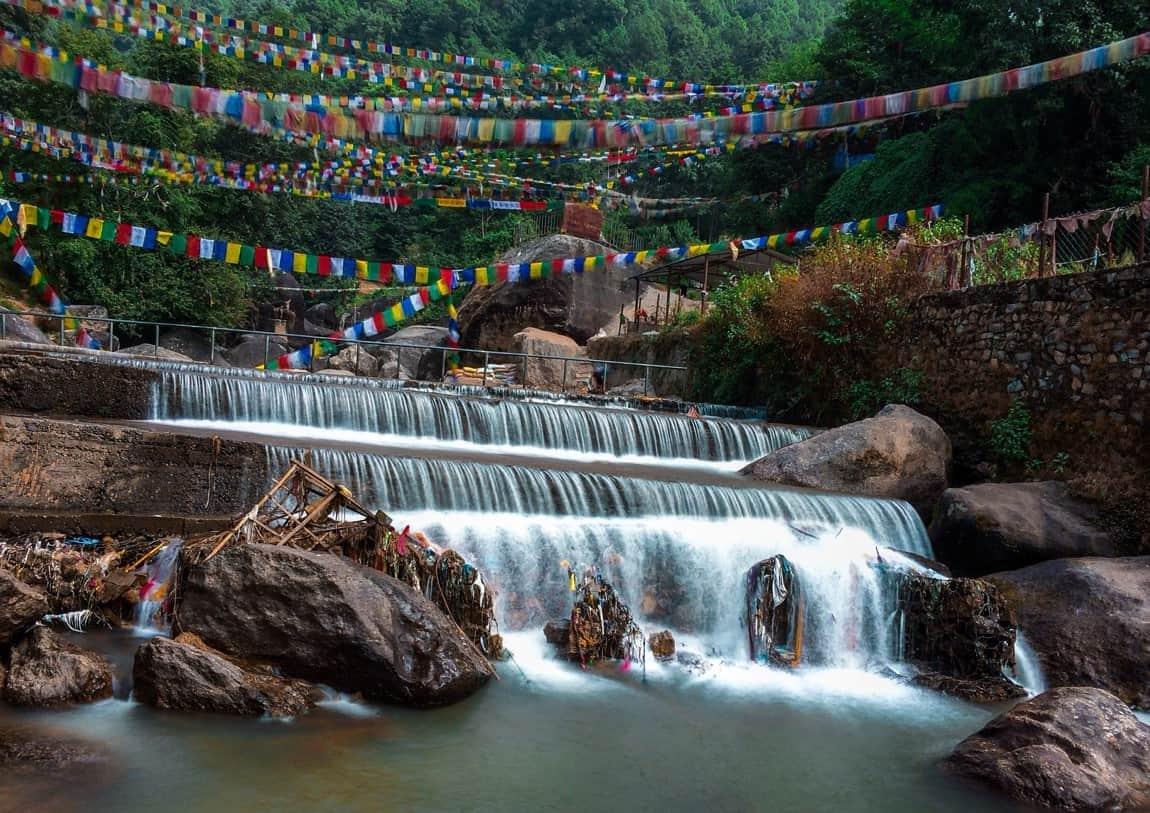 nepal falls water