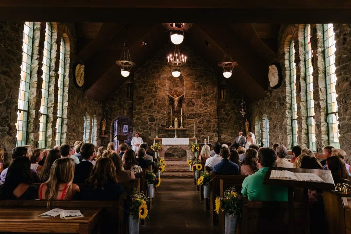 wedding in church