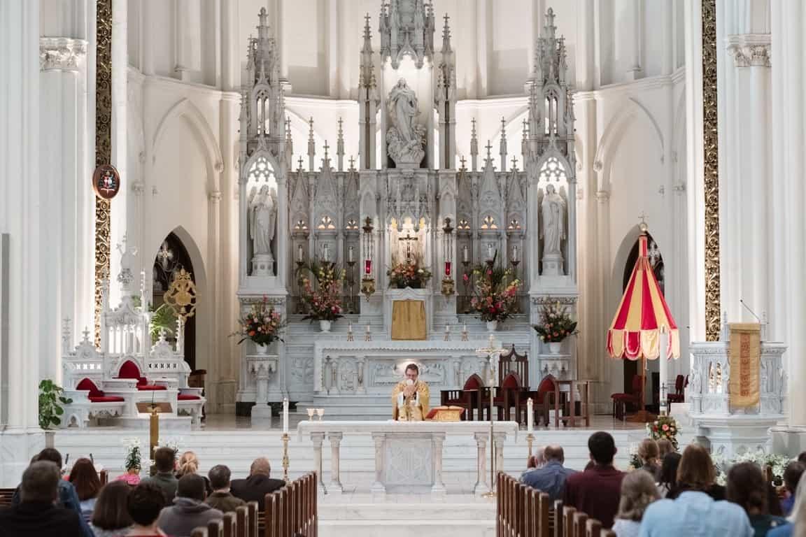communion church wedding