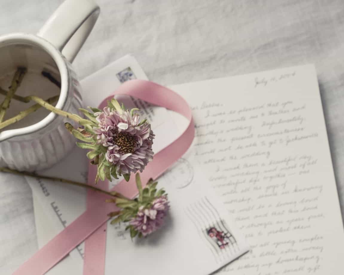 wedding letter wishes