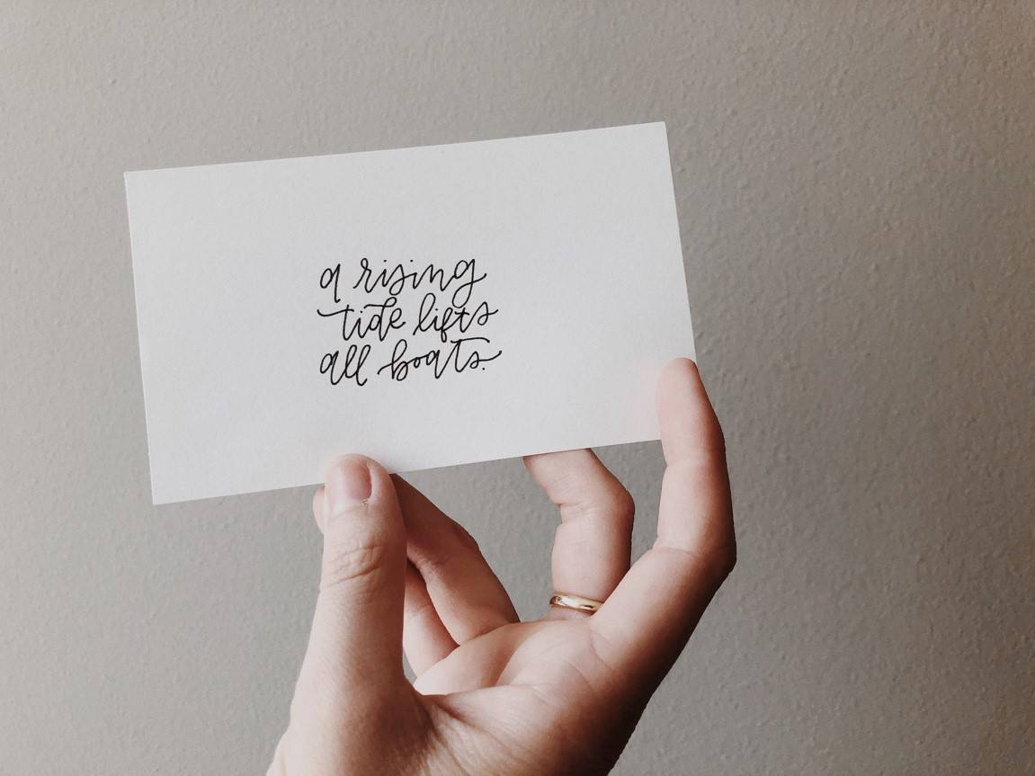 love support letter