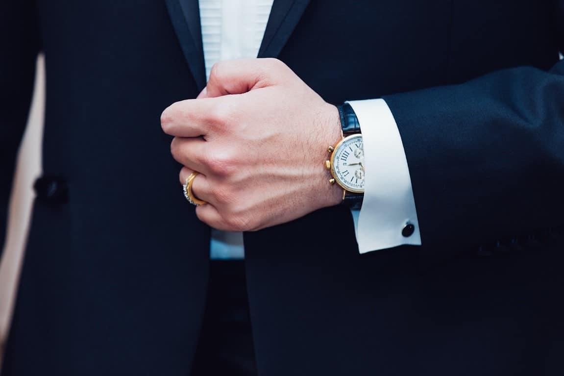 suit tie man ring