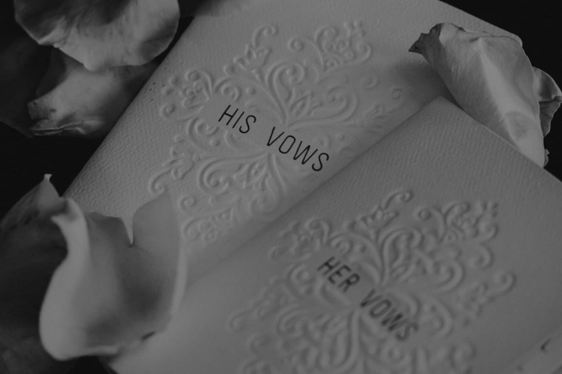 vows cards