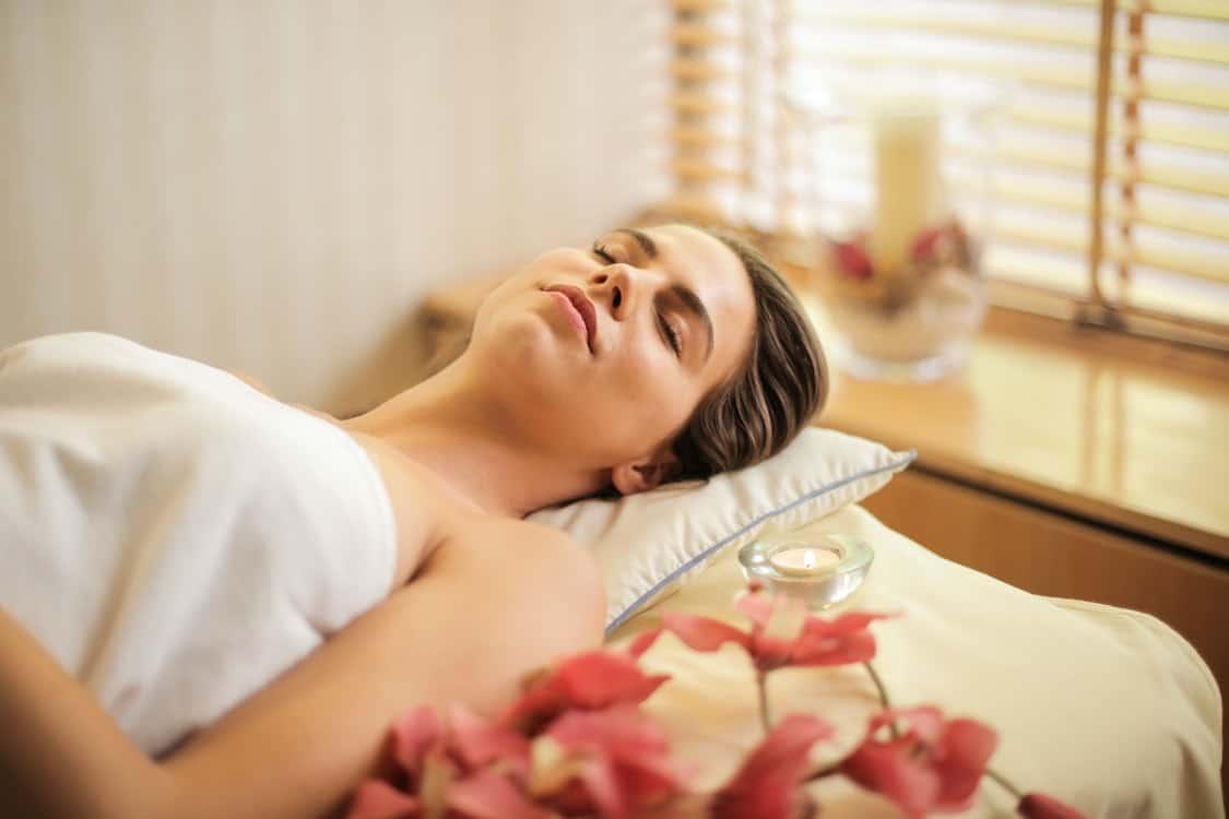 spa treatment rest