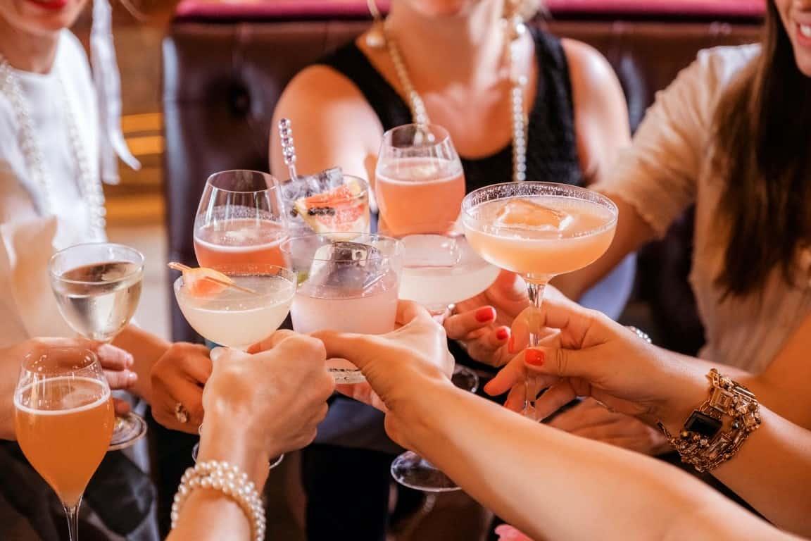 toast champagne