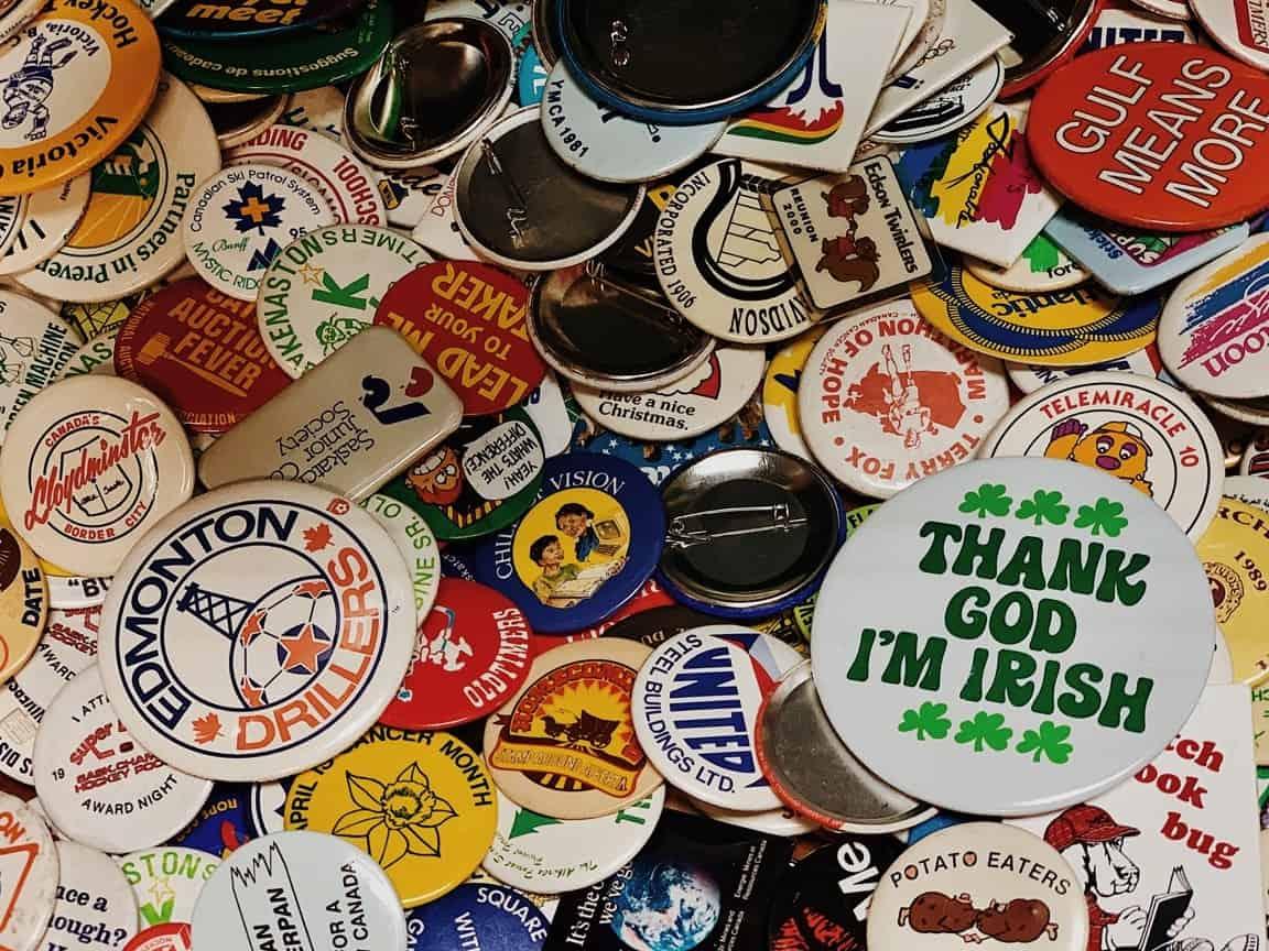 variety badges