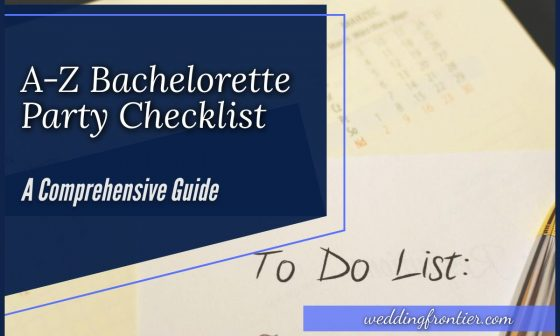 A-Z Bachelorette Party Checklist A Comprehensive Guide