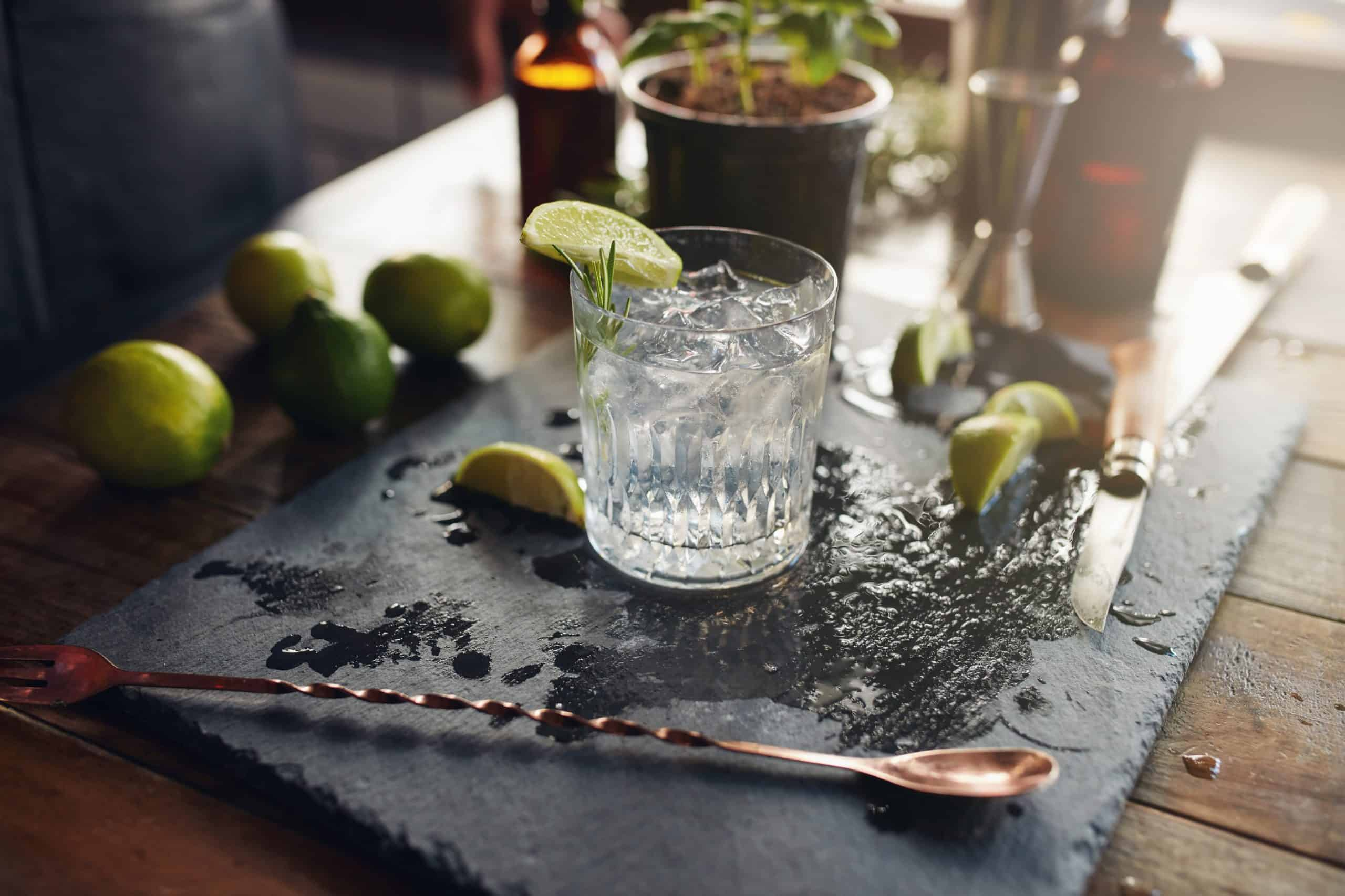 gin tonic bar